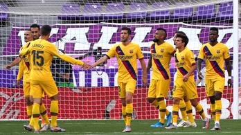 A Barcelona versenyben maradt a bajnoki címért