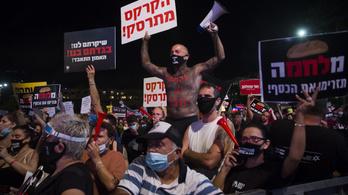 Egyéni vállalkozók ezrei tüntettek Izraelben, hogy segítsen rajtuk a kormány