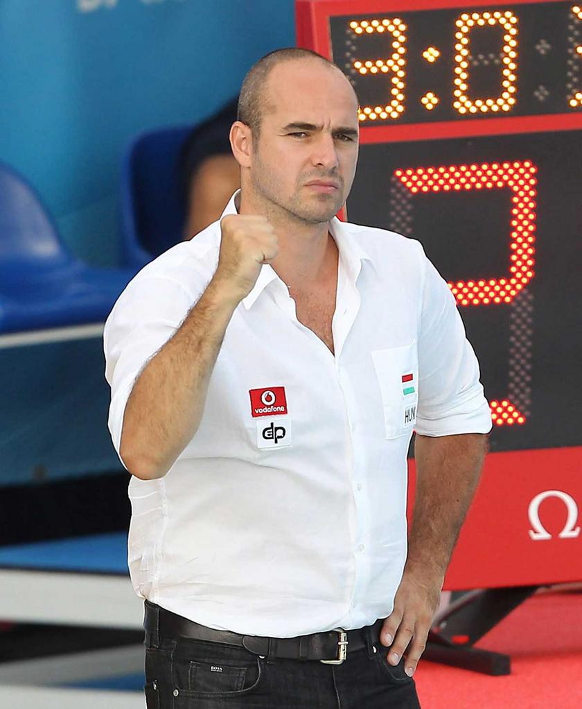 Benedek Tibor 2013. július 28-án a barcelonai vizes világbajnokságon.