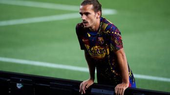 Sérülés miatt nem játszhat Griezmann a Barcelona utolsó két meccsén