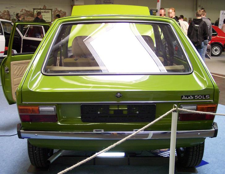 Audi 50 LS 1974 green h TCE