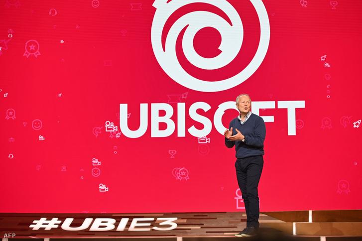 Yves Guillemot, az Ubisoft vezérigazgatója a 2019-es E3-kiállításon.