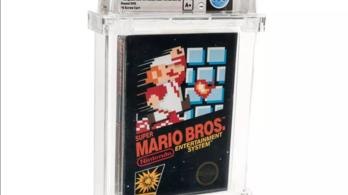 114 ezer dollárt ért a bontatlan Super Mario Bros.