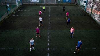 Az argentinok feltalálták a fertőzésbiztos hétvégi focit