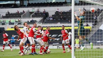 Hiába az Arsenal bombagólja, a Tottenham nyerte a rangadót