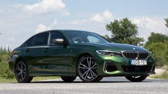 Teszt: BMW M340i - 2020.