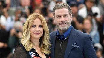 Meghalt mellrákban John Travolta felesége