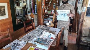 Ötven éve megfagyott indiai újságok olvadtak ki teljesen épen Franciaországban