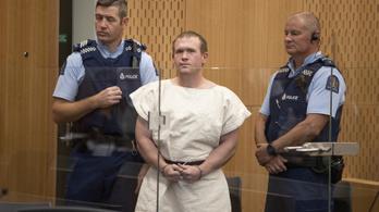 Ügyvéd nélkül áll a bíróság elé az új-zélandi mészárlás elkövetője
