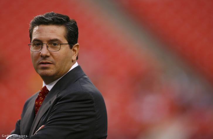Dan Snyder, a Washington Redskins többségi tulajdonosa
