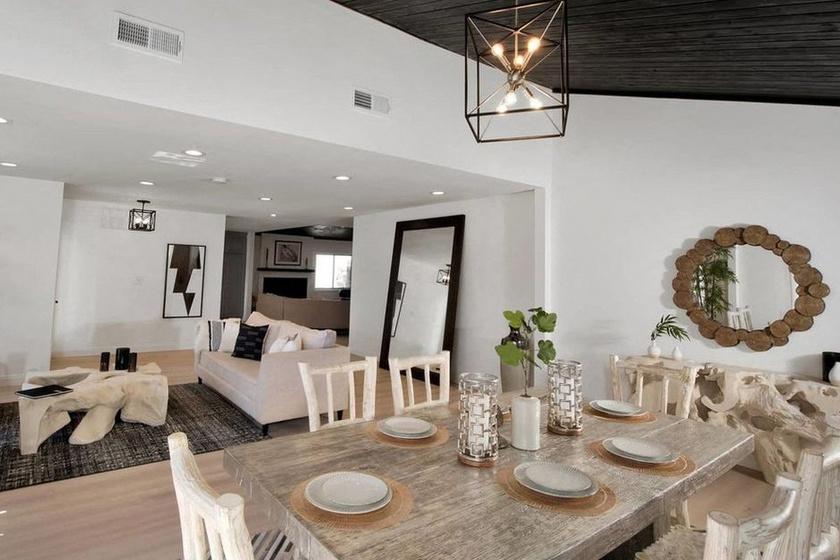Jennifer Lopez új otthonát pazar módon rendezték be, a fehér, a fekete és a faszínek dominálnak.