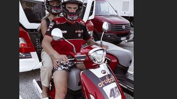 Pillanatokra visszatért a motorsport hőskora