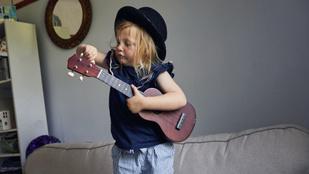 A zenetanulás a gyerek lelki nehézségeire is megoldás lehet