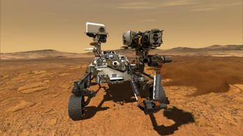 Az új marsjáró még helikoptert is visz magával a Marsra