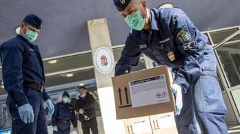 Magyar Nemzet: 1,6 milliárdot költött a rendőrség a járványhelyzet miatt