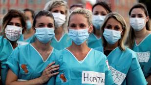Megemelik a francia egészségügyi dolgozók bérét
