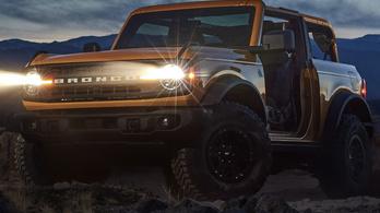 Nem titok többé a Ford Bronco