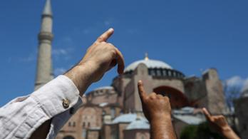 Törökország óva inti az EU-t attól, hogy beleszóljon a Hagia Szophia ügyébe