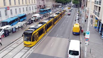Csütörtöktől változik a nagykörúti villamosok forgalmi rendje