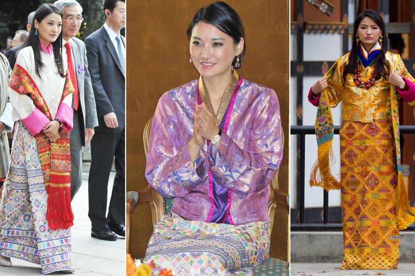 A bhutáni királyné gyönyörű és nagyon stílusos: színpompás szettjeivel mindenkit elkápráztat