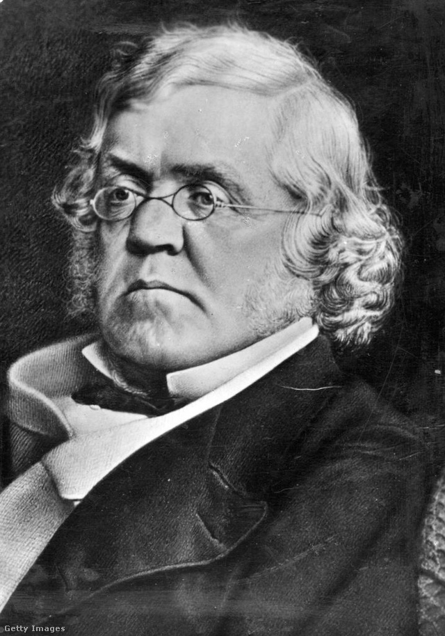 William Makepeace Thackeray portréja