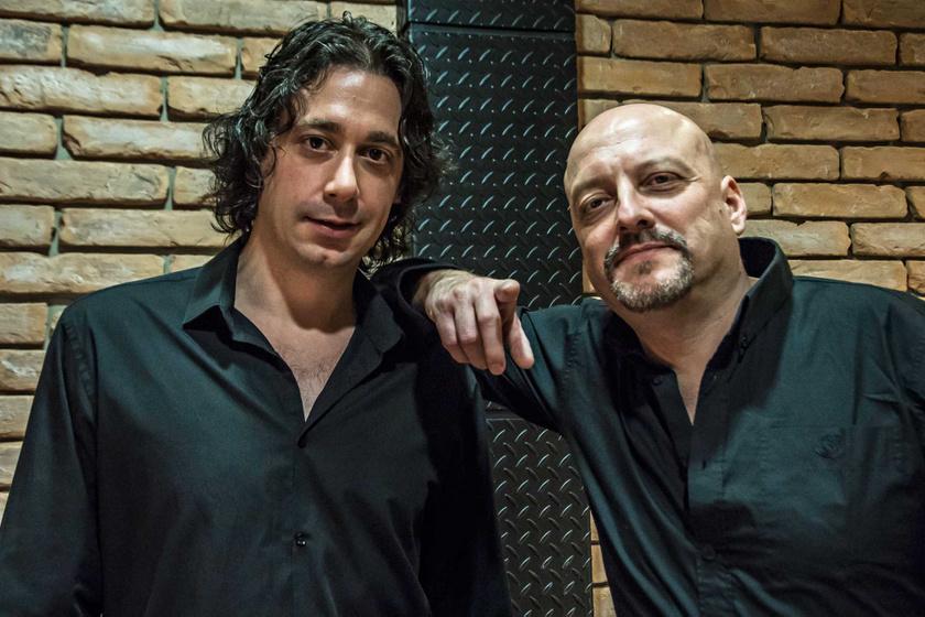 Renato Pavesi és Mentes Norbert
