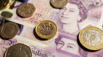 Brutálisan zuhant a brit GDP a járvány miatt
