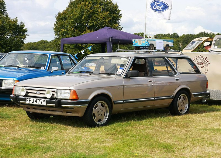 Ford Granada II EstateakaKombiakaTurnierakaStation wagon registe