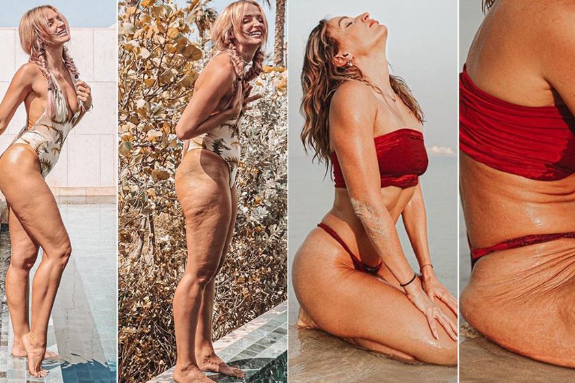 Így vernek át az Instán! Ugyanaz a női test, mégis hatalmas a különbség a két kép között