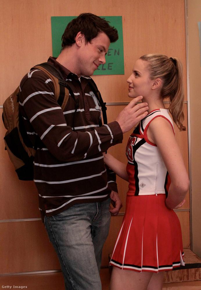 A Glee első évadjaiban az egyik fő történetszál Corey Monteith és Dianna Agron karaktereinek kapcsolata volt