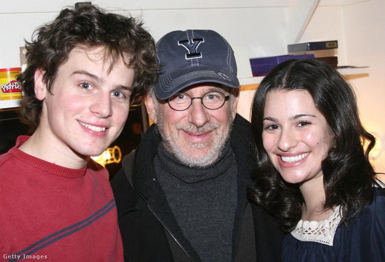 Ez egy 2006-os kép, amikor Michele a Broadway sztárja volt a Spring Awakening című musicallel