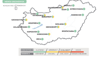 Minden megyében alacsony víruskoncentrációt mértek a szennyvízben