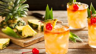 Nyári narancs-citrom-lime szörp házilag