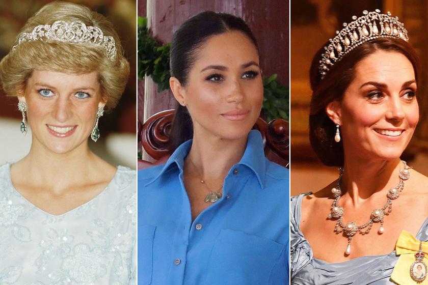 Meghan ebben simán lepipálta Katalin hercegnét: Dianát viszont nem tudta megelőzni