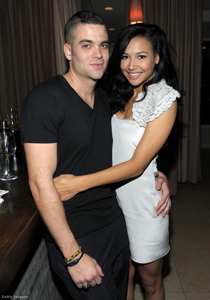 Salling még a Glee előtt, 2007-ben kezdett járni a most elhunyt Naya Riverával, ez a kép 2009-ben készült róluk