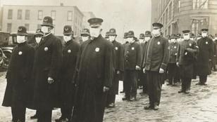 A maszkviselés ellen már a spanyolnátha idején is sokan lázadtak