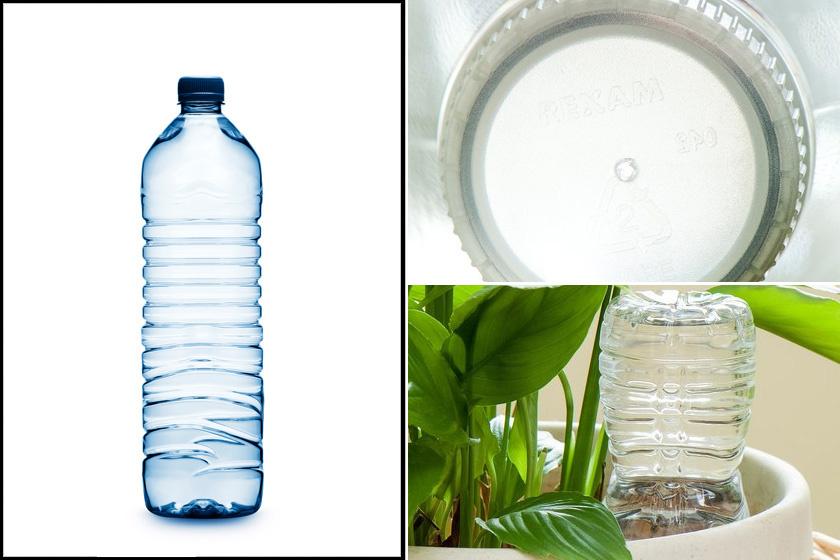 Praktikus eszköz a jó nedvszívó képességű, természetes anyagból készült vízvezető madzag. Ehhez szükség lesz egy-egy vázára is, akkorákra, melyekben épp belefér a cserép. A vázákba kerüljön annyi víz, hogy még ne érje el a cserép alját. 1-2 szál madzagot vezess cserepek alsó nyílásaiba, majd a szálak másik végét lógasd a vízbe.