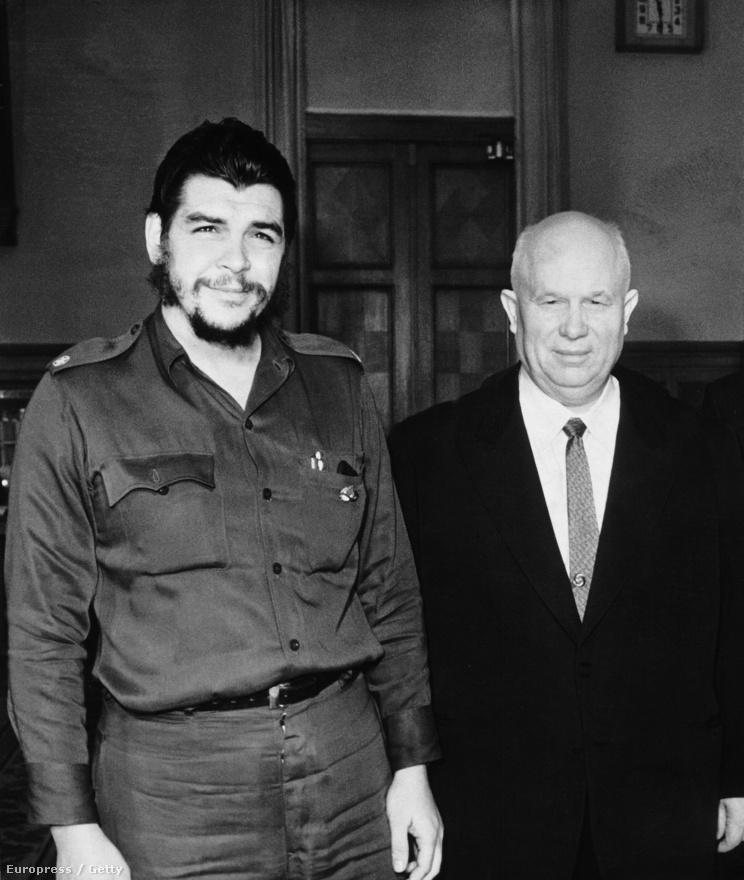 Guevara 1960-ban és 1964-ben is találkozott Nyikita Hruscsovval, a Szovjet Kommunista Párt főtitkárával.