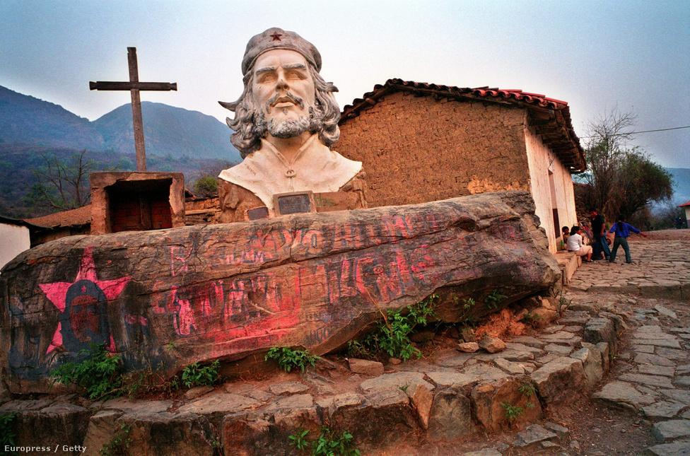 A bolíviai La Higuera iskola. Itt végezték ki Che Guevarát 1967. október 9-én.