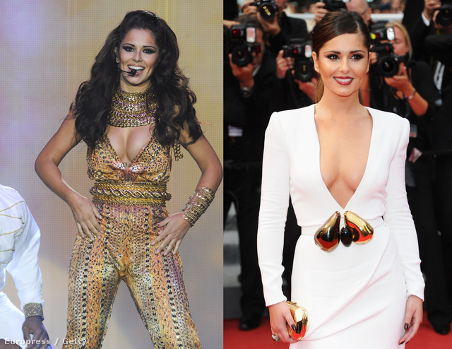 Balra: Cheryl Cole pár napja Belfastban, jobbra: Cheryl Cole tavaly májusban