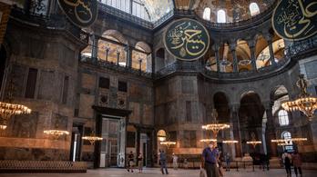 Moszkvai török nagykövet: Megmaradnak a Hagia Szophia mozaikjai