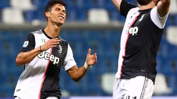 Kétgólos előnyről bukta el a győzelmet a Juventus
