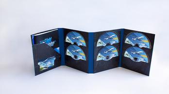 Tíz DVD-nyi helyet foglal el a legszebb repülőszimulátor