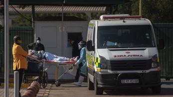Több fertőzött van a Dél-afrikai Köztársaságban, mint Afrika összes országában összesen