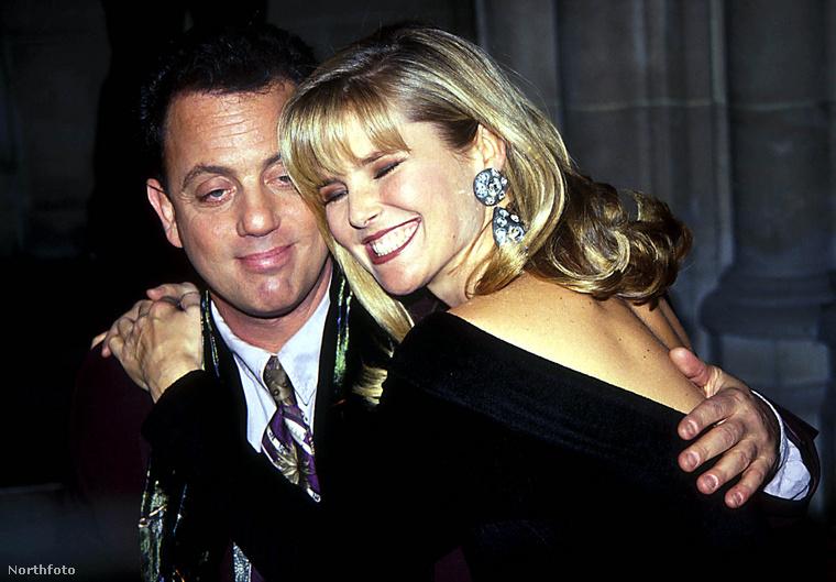 Billy Joel 9 évig volt  Christie Brinkley férje, akitől 1994-ben vált el