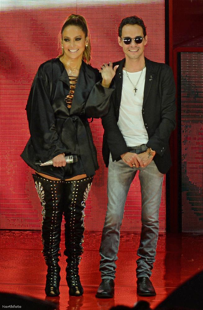 J.Lo és Marc Anthony 2004-től 2011-ig tartó házasságából egy ikerpár született: Mex és Emme