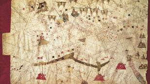 Félelmetes, mennyire pontos pár 7-800 éves tengeri térkép