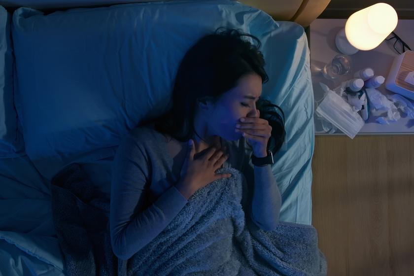 Állandó éjszakai köhögés: így tüntetheted el az allergéneket a hálószobából