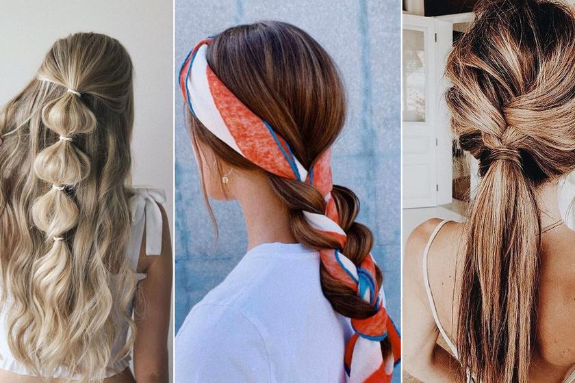 Csinos és igazán nőies frizurák nyárra, ha unod a copfot: pár perc alatt elkészítheted őket