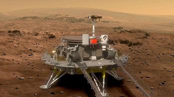 Még idén nyáron elindul a kínai Mars-expedíció